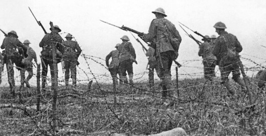 UNEDITED ARCHIVE FILM from WW1 1914 - 1918